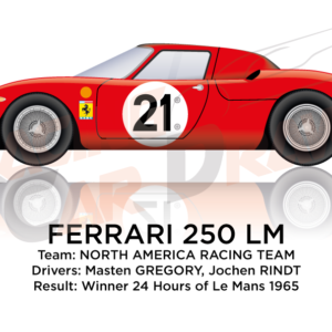 the Ferrari 250 LM n.21