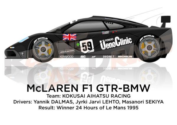 McLaren F1 GTR - BMW n.59 winner 24 Hours of Le Mans 1995