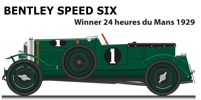 Bentley Speed Six n.1 winner 24 Hours of Le Mans 1929