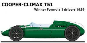 Cooper - Climax T51 winner Formula 1 World Champion 1959