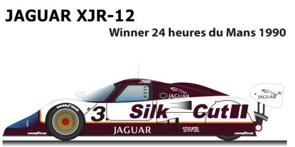 Jaguar XJR-12 n.3 winner 24 Hours of Le Mans 1990