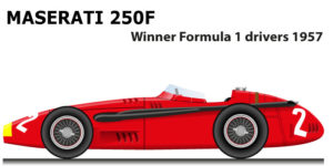 Maserati 250F winner Formula 1 World Champion 1957 with Fangio