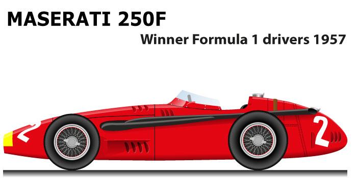 Maserati 250F winner Formula 1 World Champion 1957 with Fangio
