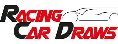 Racing Car Draws Logo