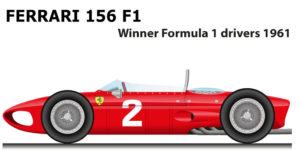 Ferrari 156 F1 winner Formula 1 world champion 1961