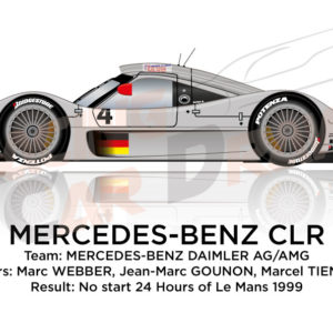 Mercedes-Benz CLR n.4 24 hours of Le Mans 1999
