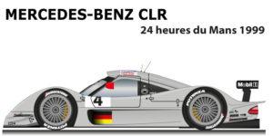 Mercedes-Benz CLR n.4 24 hours of Le Mans 199