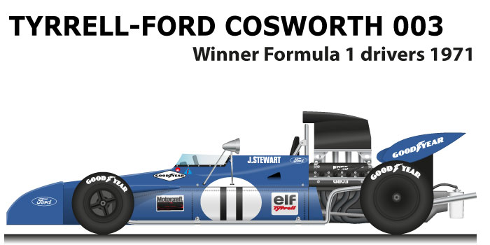 Tyrrell Ford Cosworth 003