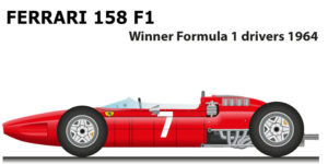 ferrari 158 f1 winner Formula 1 champion 1964