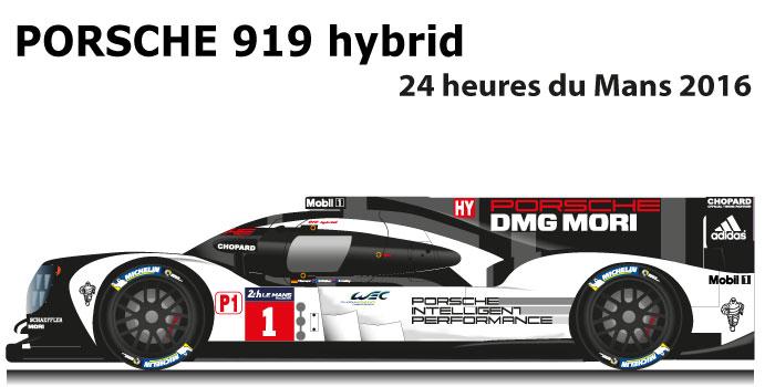 Porsche 919 Hybrid N 1