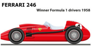 Ferrari 246 Formula 1 Champion 1958 with Mike Hawthorn