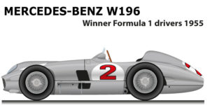 Mercedes-Benz W196 Formula 1 Champion 1955 with Fangio