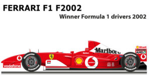 Ferrari F1 F2002 n.1 Formula 1 World Champion 2002 with Schumacher