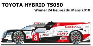 Toyota Hybrid TS050 n.8 Winner 24 Hours of Le Mans 2018