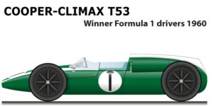 Cooper - Climax T53 winner Formula 1 World Champion 1960 with Jack Brabham