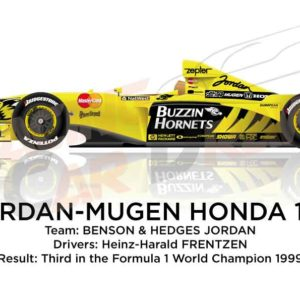 Image Jordan - Mugen Honda 199 n.8 third in the Formula 1 World Champion 1999