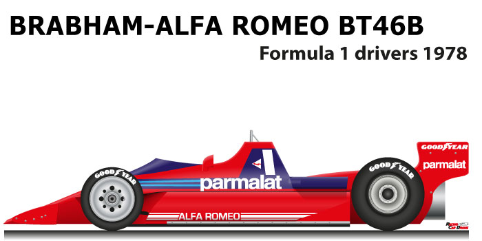 Brabham - Alfa Romeo BT46B n.1 fourth Formula 1 World Champion 1978