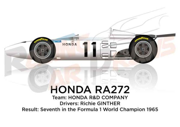 Honda RA272 n.11 seventh Formula 1 World Champion 1965