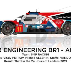 BR Engineering BR1 - AER n.11 third in the 24 Hours of Le Mans 2019