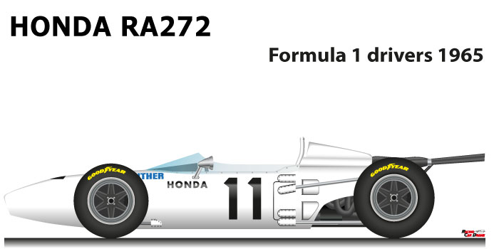Honda RA272 seventh Formula 1 World Champion 1965