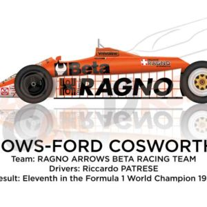 Arrows - Ford Cosworth A3 n.29 eleventh Formula 1 World Champion 1981