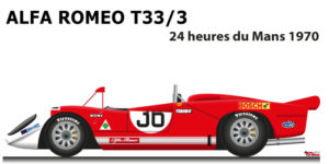 Alfa Romeo T33/3 n.36 did not finish 24 Hours of Le Mans 1970