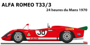 Alfa Romeo T33/3 n.38 did not finish 24 Hours of Le Mans 1970