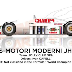 AGS - Motori Moderni JH21C n.31 is not classified in the Formula 1 World Champion 1986