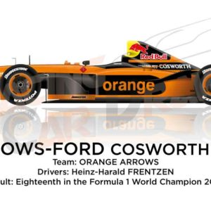 Arrows - Ford Cosworth A23 n.20 eighteenth in the Formula 1 World Champion 2002