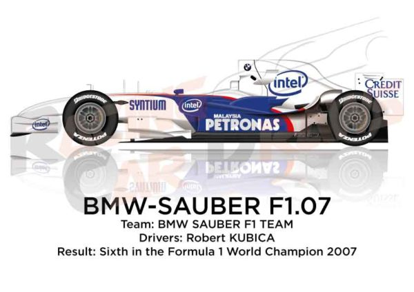 BMW - Sauber F1.07 n.10 sixth in the Formula 1 World Champion 2007