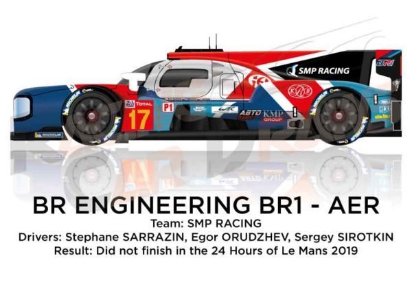 BR Engineering BR1 - AER n.17 did not finish in the 24 Hours of Le Mans 2019