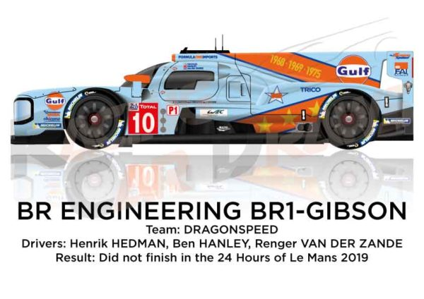 BR Engineering BR1 - Gibson n.10 in the 24 Hours of Le Mans 2019