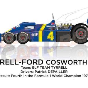 Tyrrell - Ford Cosworth P34 n.4 fourth Formula 1 World Champion 1976