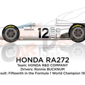 Honda RA272 n.12 fifteenth Formula 1 World Champion 1965