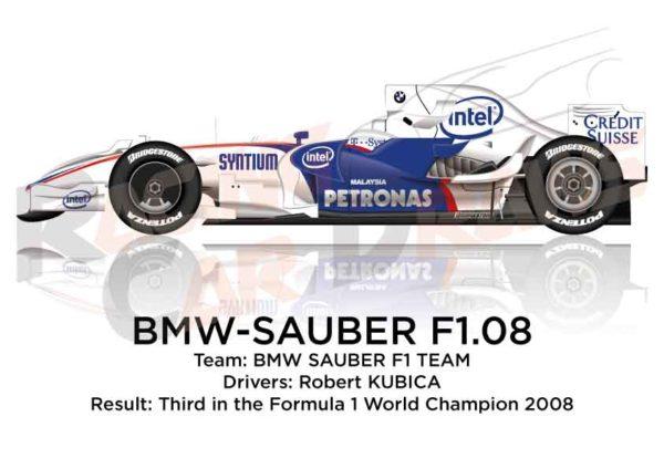 BMW - Sauber F1.08 n.4 third in the Formula 1 World Champion 2008
