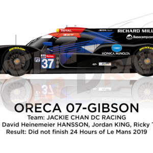 Oreca 07 - Gibson n.37 did not finish 24 hours of Le Mans 2019