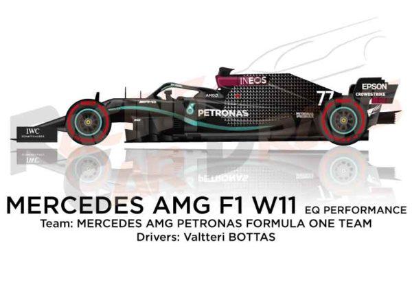 Mercedes AMG F1 W11 EQ Performance n.77 Formula 1 2020