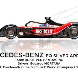 Mercedes-Benz EQ Silver Arrow 01 n.48 Formula E Champion 2020