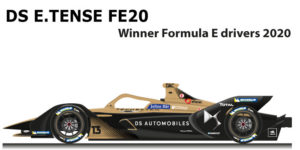 DS E-TENSE FE20 n.13 Winner Formula E World Champion 2020