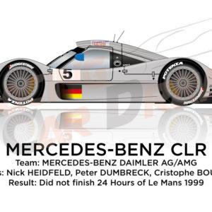 Mercedes-Benz CLR n.5 24 hours of Le Mans 1999