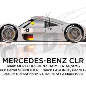 Mercedes-Benz CLR n.6 24 hours of Le Mans 1999
