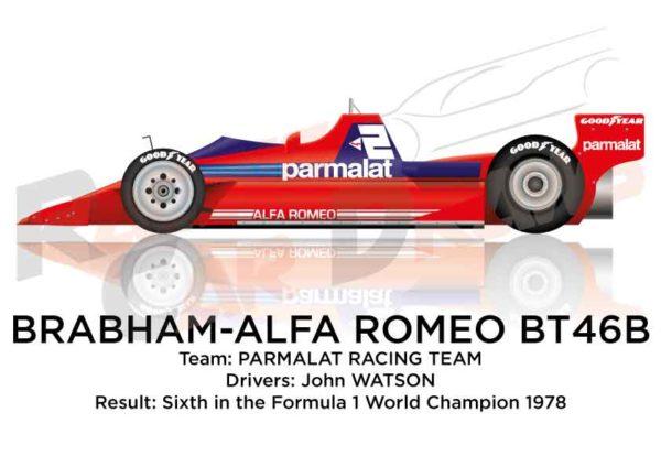 Brabham - Alfa Romeo BT46B n.2 sixth Formula 1 World Champion 1978