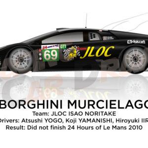 Lamborghini Murcielago RG-1 n.69 24 Hours of Le Mans 2010